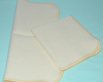 1 Ply Extra Thick Unbleached Corded Scrubbies 12x13 Paperless Towel Set of 2