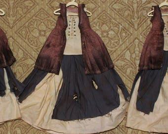 RowinDoll MSD BJD 1/4 Genevieve Outfit 4 piece