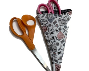 Scissor Keeper, Quilted Cotton, Pincushion Print