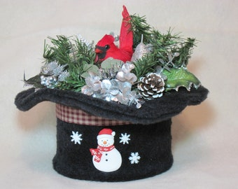 c15aa304ed2f7 Top hat ornament
