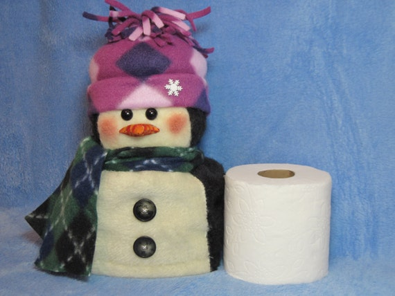 Penguin Pattern Penguin Toilet Paper Roll Cover Etsy