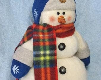 "Snowman pattern:  ""Bluster"" - #495"