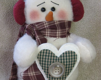 """Snowman pattern:  """"Chilly"""" - #474"""