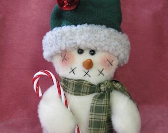 "Snowman pattern:  ""Blizzy - #476"