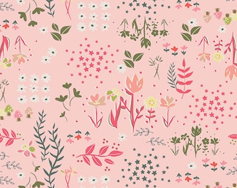 Library Gardens Printemps from Fusion Printemps Collection by Amy Sinibaldi for Art Gallery Fabrics