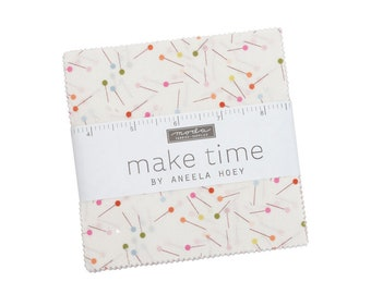 Make Time Charm Pack by Aneela Hoey for Moda Fabrics