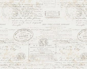 Stamped from Paperie Fabric Collection by Amy Sinibaldi for Art Gallery Fabrics