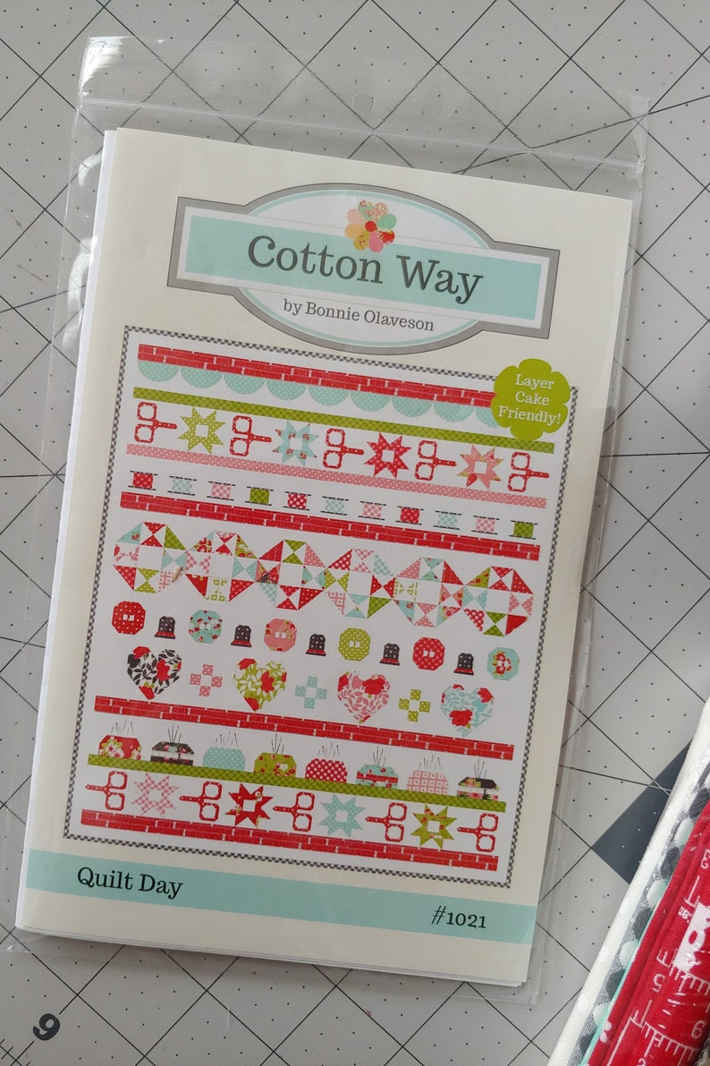 Quilt Day Quilt Kit by Cotton Way for Moda Fabrics