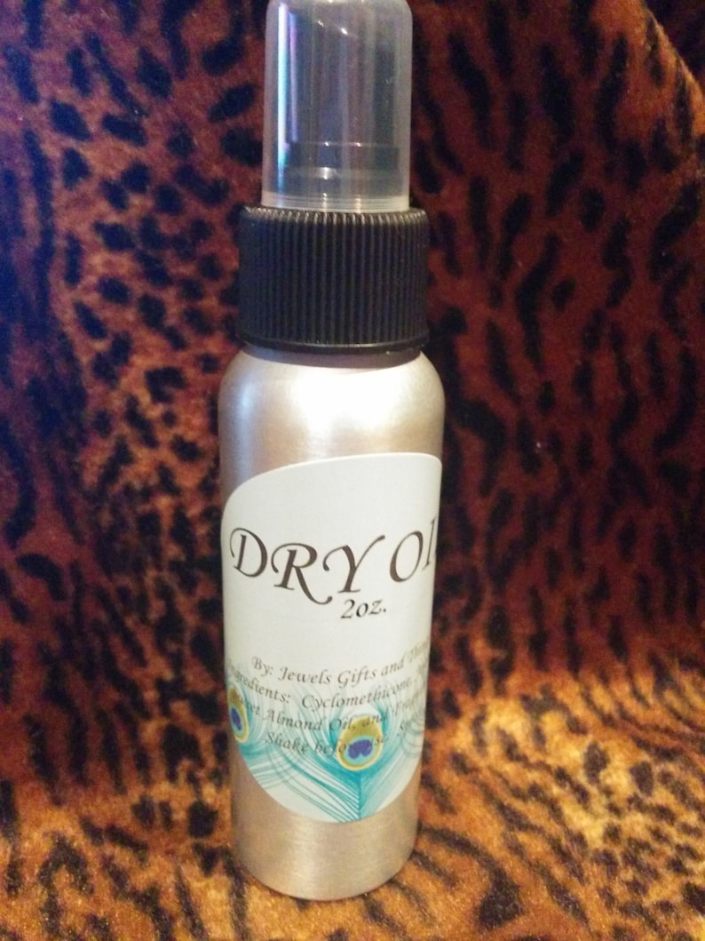 Dry Oil Spray      You Pick The Scent      2oz. image 0