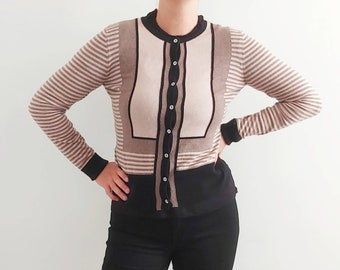 00's Laura Ashley Cardigan with Cashmere