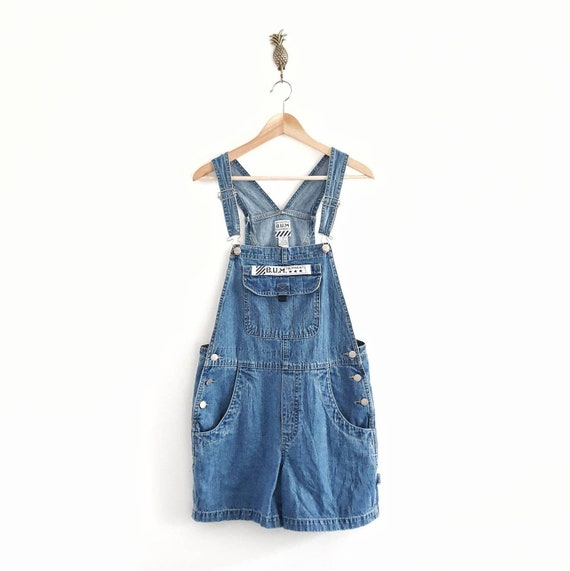 90s Short Dungarees