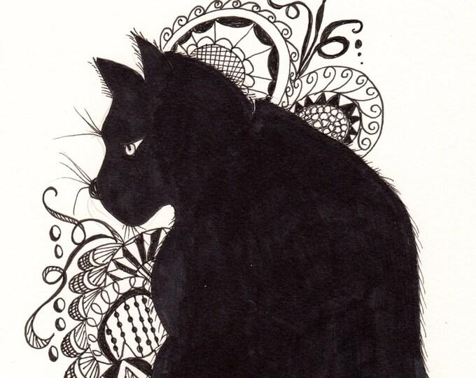 Zen Cat Cards