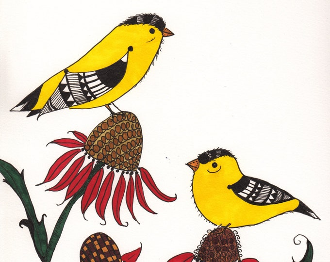The Goldfinch Cards