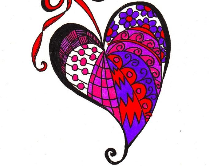 The Zen Purple Heart Cards