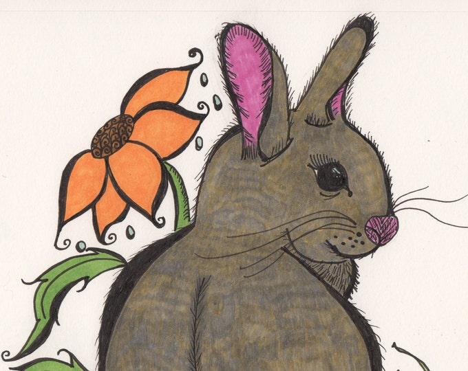 The Flower Rabbit Cards