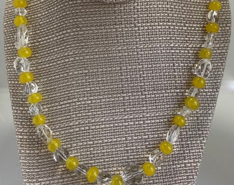 Sunshine Necklace and Earring Set
