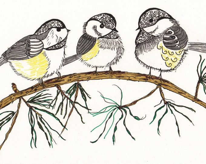 The Zen Chickadees Cards