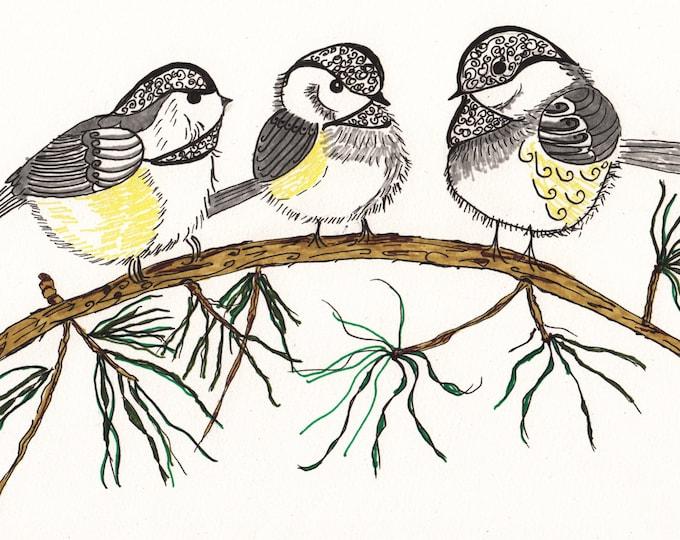 The Zen Chickadees Cards