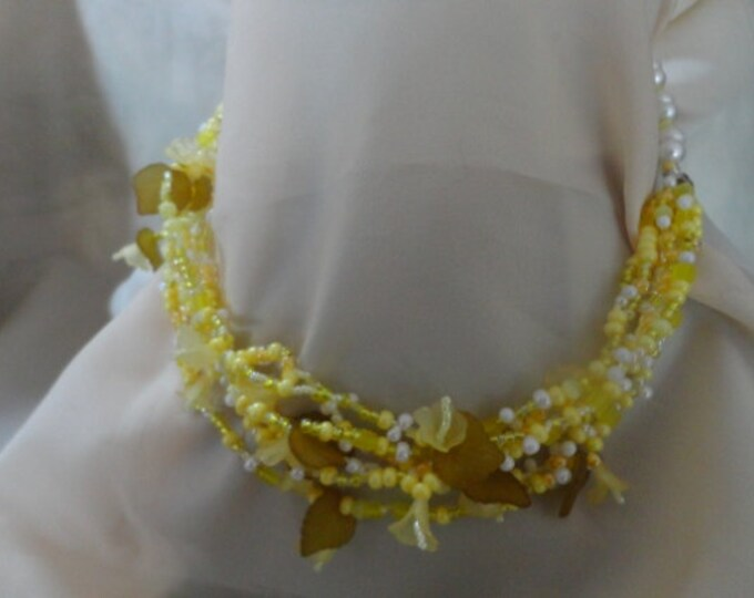 Lemon Flower Necklace