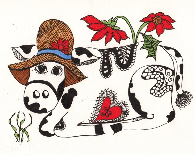 The Country Cow Cards