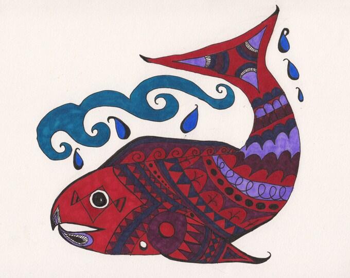 The Zen Salmon Cards