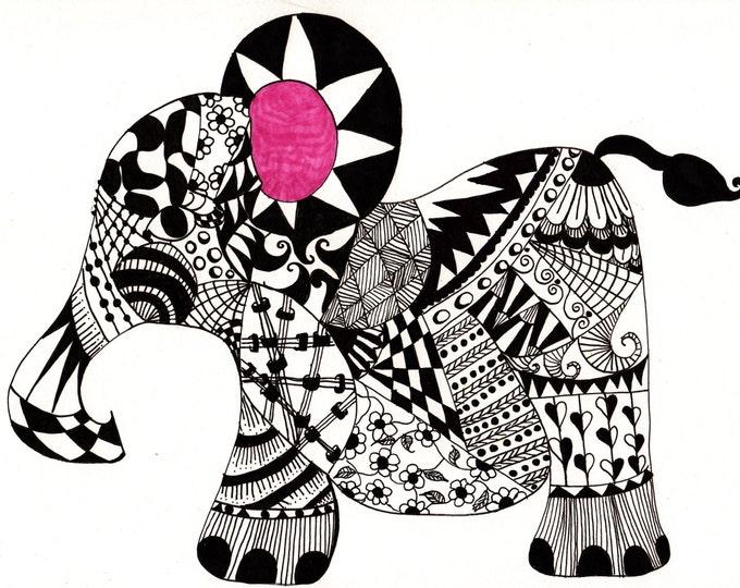 The Ellie Elephant Cards