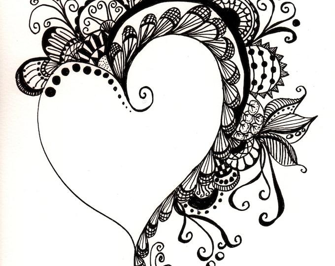 The Zen Heart a Flutter Cards
