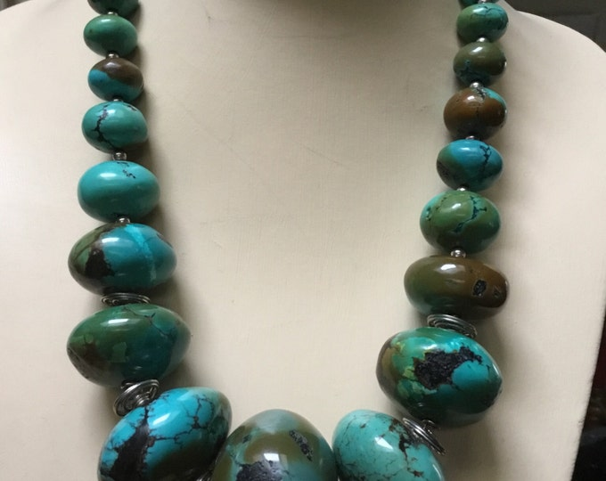 Statement Turquoise Necklace
