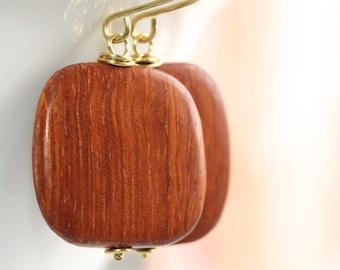 Wood Earrings - 'Five Seasons'