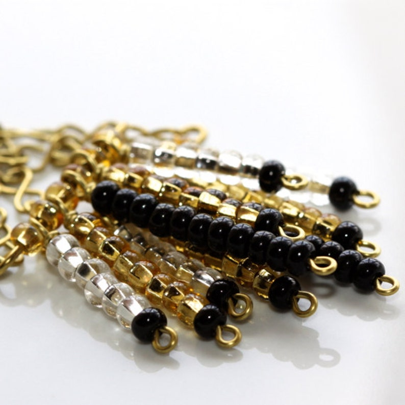 and Silver Earrings Gold Black /'Prejudice Referee/'
