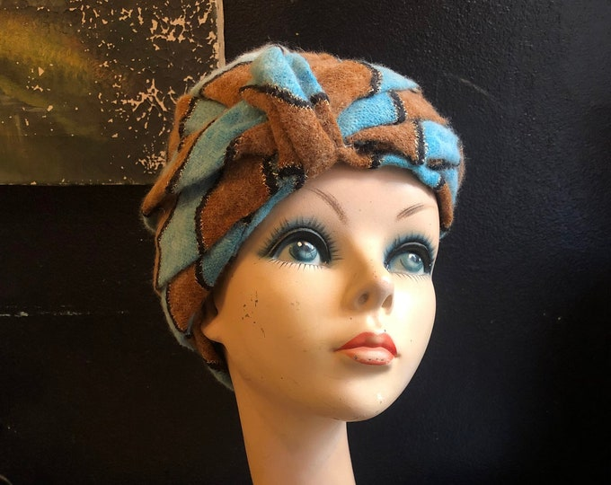 1960s Vibrant Turban