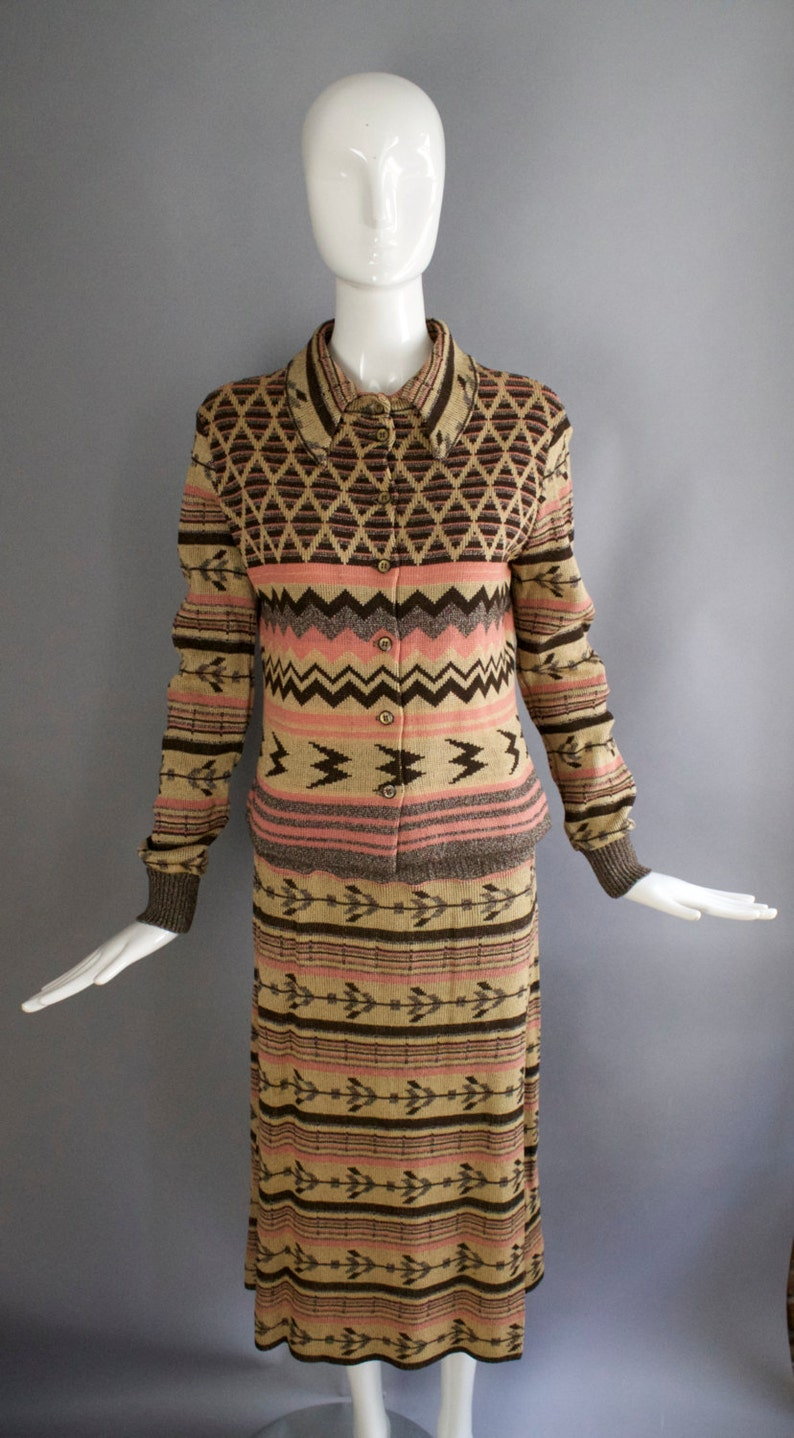 821d91a9a5a 70s GIORGIO SANT ANGELO knits outstanding and inspired