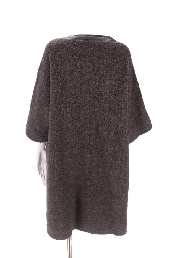 60s SILLS Bonnie Cashin gray wool coat M-L / vint… - image 3