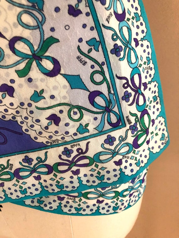 60s EMILIO PUCCI psychedelic print Formfit Rogers… - image 3