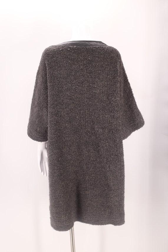 60s SILLS Bonnie Cashin gray wool coat M-L / vint… - image 7
