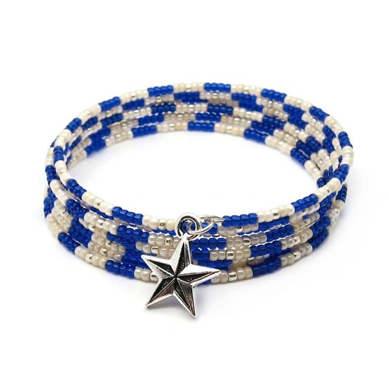 Coil bracelet  memory wire bracelet  wrap around bracelet  image 0