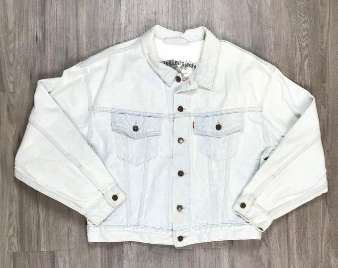 80s Levi's Light Wash Denim Jacket