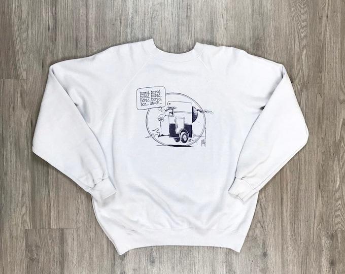 80s Bored Horse Sweatshirt