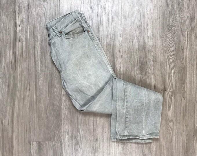 """90s Light Gray Denim Jeans 30"""""""