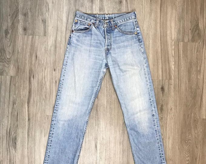 90s Light Wash Levi Jeans M WB26291