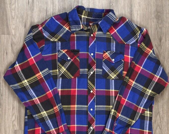 90s Wrangler Flannel