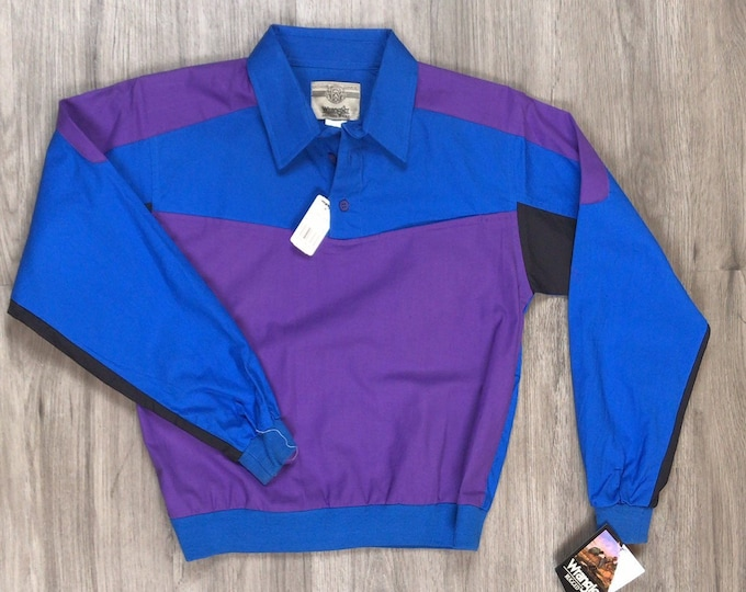 90s Wrangler Colorblock Shirt
