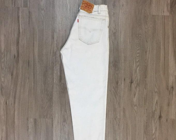 80s Levi's 550 Light Wash Jeans