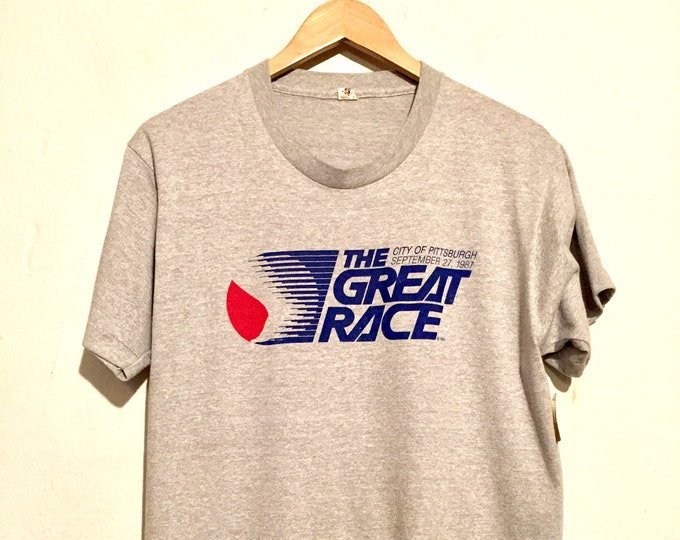 80s The Great Race Pittsburgh Tee