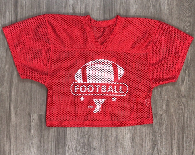 80s YMCA Football Cropped Jersey