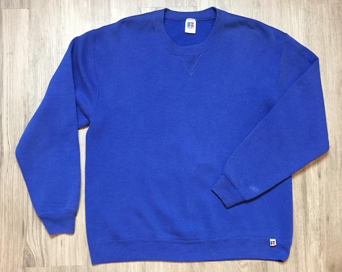 90s Cobalt Russel Athletic Sweatshirt