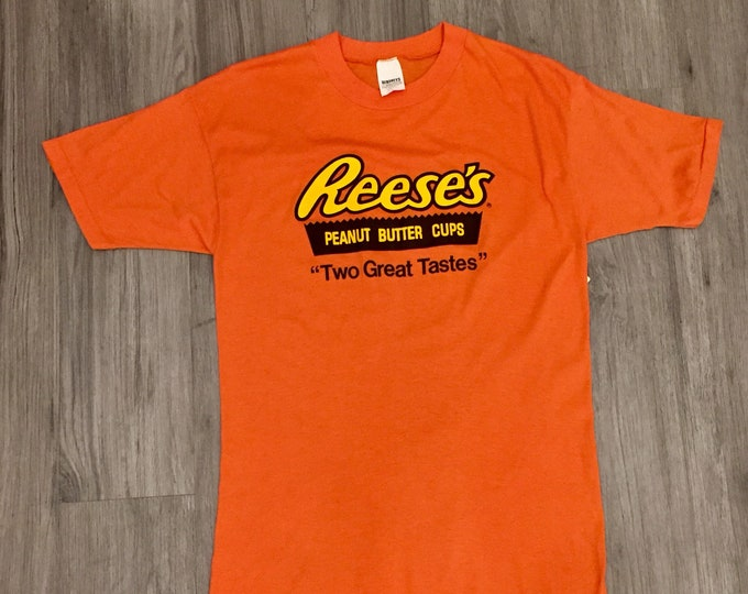 80s Reeses Peanut Butter Cup Tee Shirt