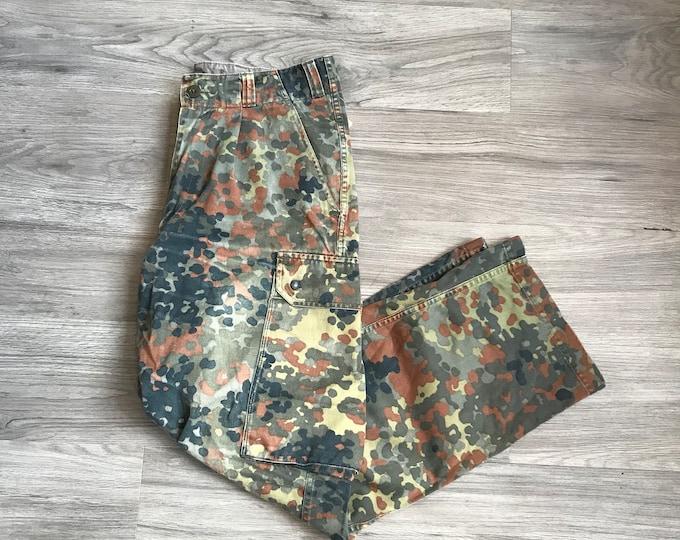 90s Camo Cargo Pants