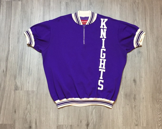 60s Purple Knights Pullover Jersey