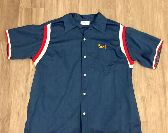 70s VFW Bowling Shirt
